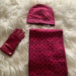 Aqua Falls Winter Glove /& Hat Set